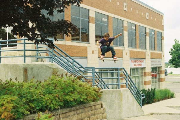 an ollie for andrew brophy