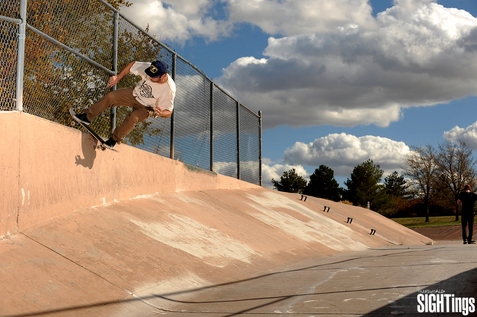 Fred Gall Switch Boardslide in Albuquerque, New Mexico