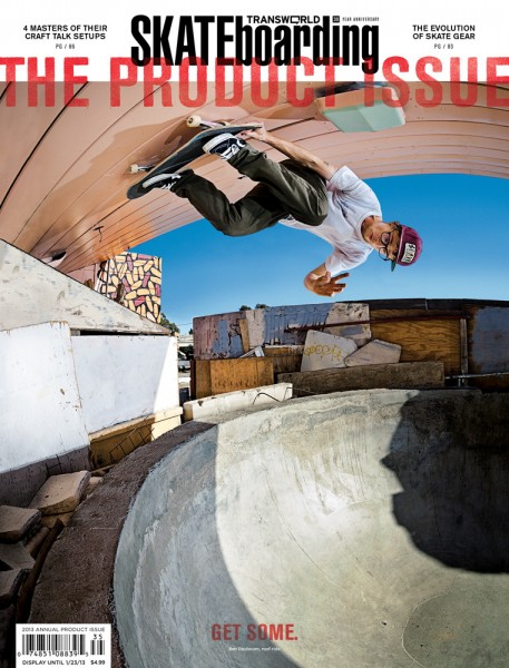 Ben Raybourn TransWorld Cover November 2012