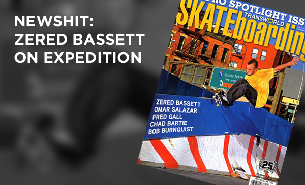 newshit: BASSETT ON EXPEDITION