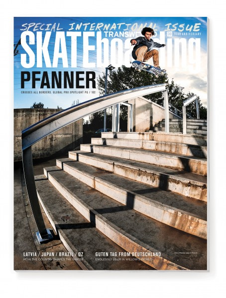 Chris Pfanner, TransWorld Skateboarding