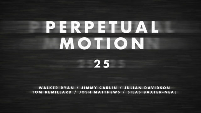 Perpetual Motion presented by TransWorld SKATEboarding