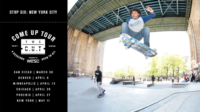 TWS C.U.T. Presented by WeSC NYC Wrap Up