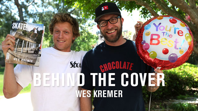 Behind The Cover: Wes Kremer