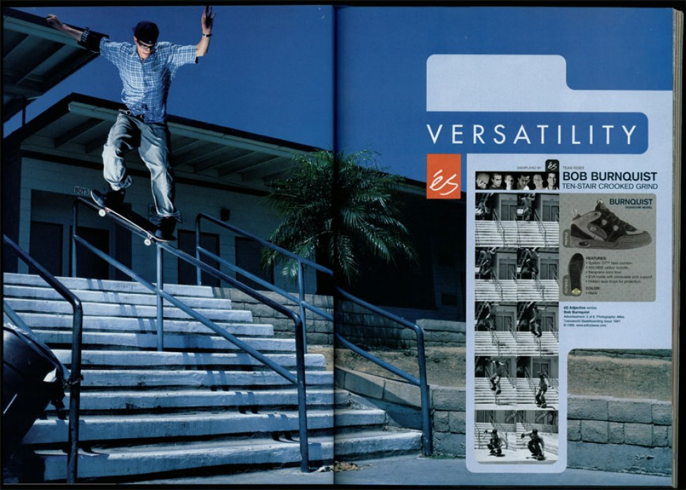 Throwback éS rail ad from '00.