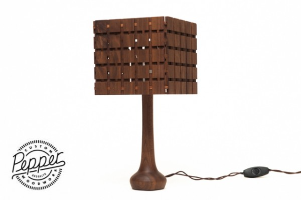 The Fowler Lamp. Sold out but check Joey's store for more handcrafted gems.