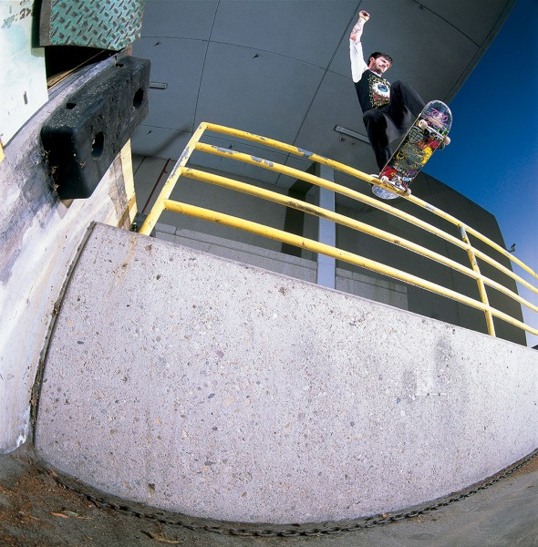 Chris Cole, frontside bluntslide. PHOTO / BARTON