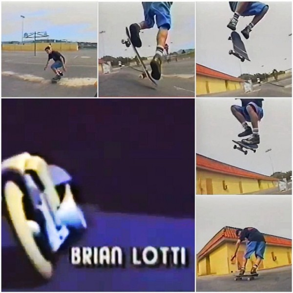 "Brian Lotti ""Spin Off"" (body varial 360) from Planet Earth's Now n' Later (1991)."