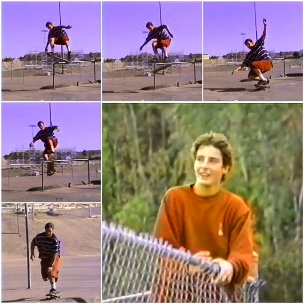 Dan Peterka, late front 360 shove from H-Street, Next Generation (1992).