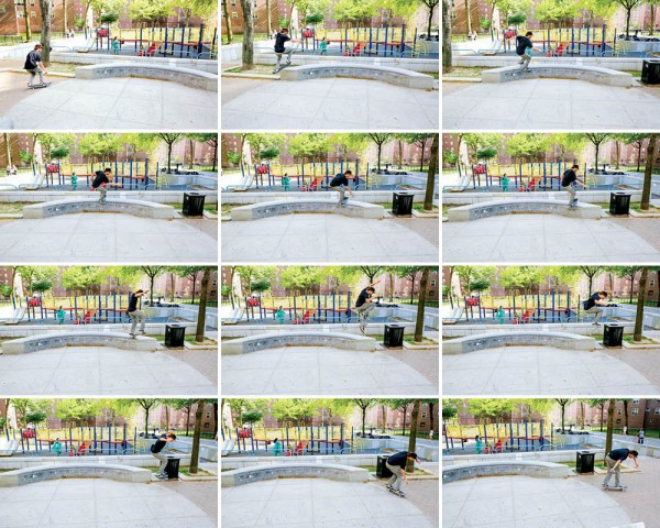 Frontside lipslide impossible out. (click to enlarge)