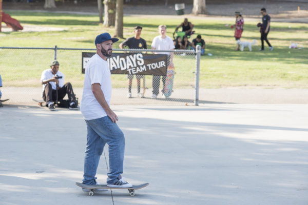 Pete Eldridge joined the team for the Los Angeles stop of the team tour.