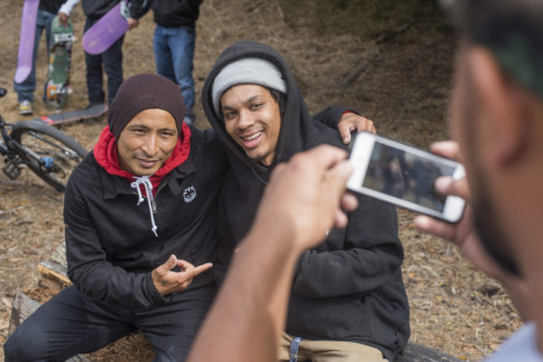 Selfie time with the one and only Daewon Song.