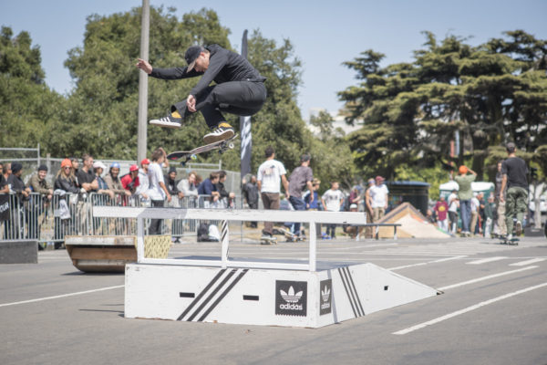 Power and finesse, Donnelly makes everyone want to kickflip better.