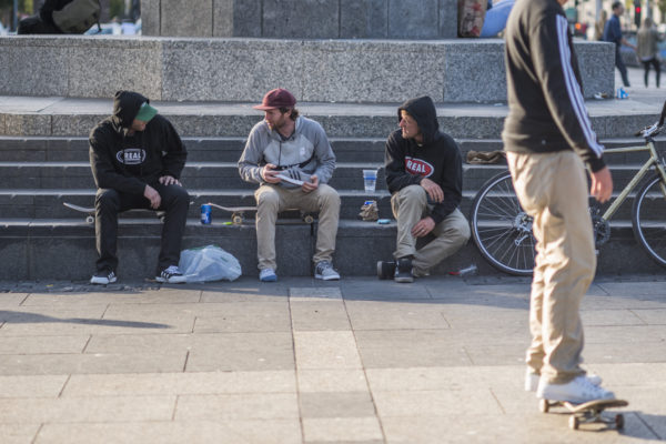 Pre demo sesh, the crew hit the streets of San Francisco.