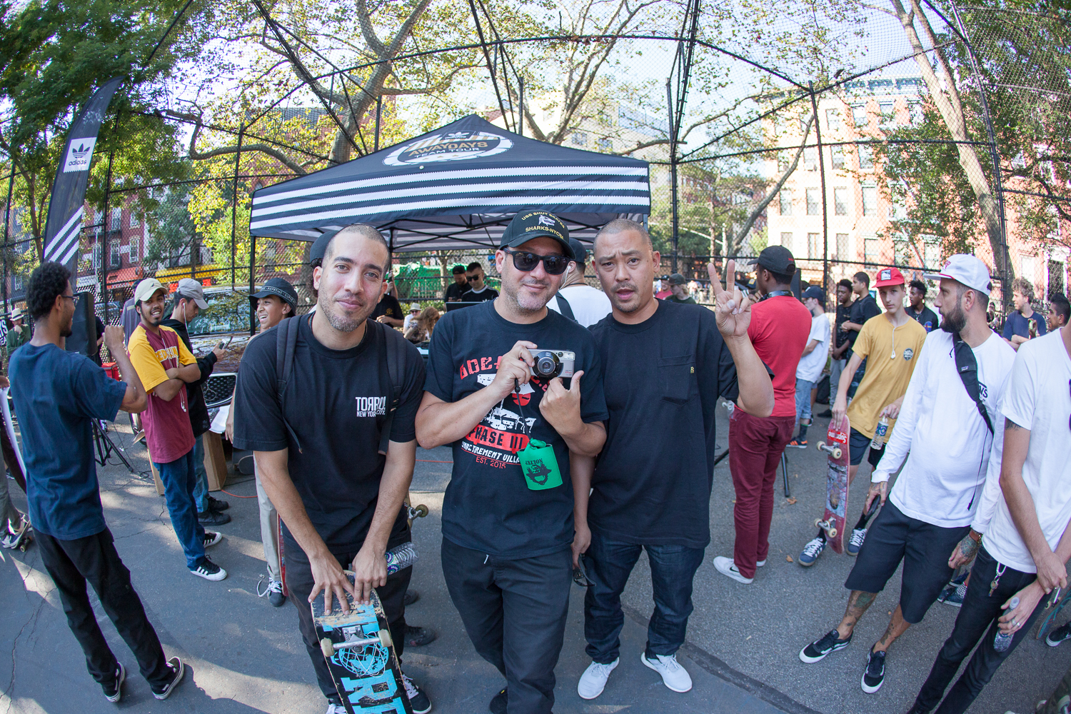 NYC OGs, Rodney Torres, Michael Cohen, and Ray Mate.