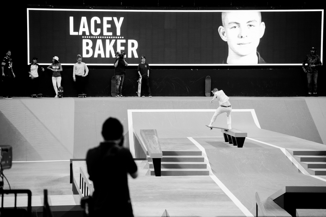 Lacy Baker, noseslide 270 out.