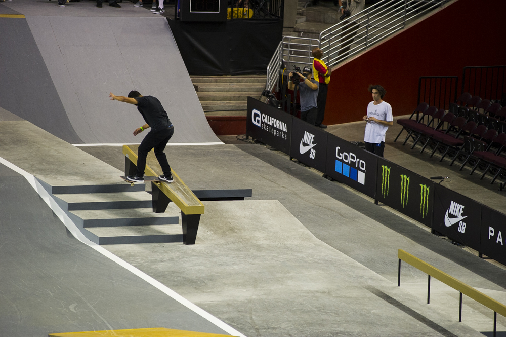 Paul Rodriguez, switch backside tailslide.