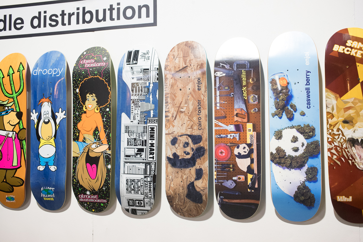 enjoi and Almost.