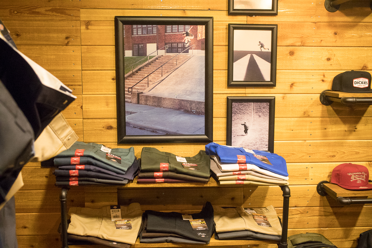 Dickies skate stuff looking real good.