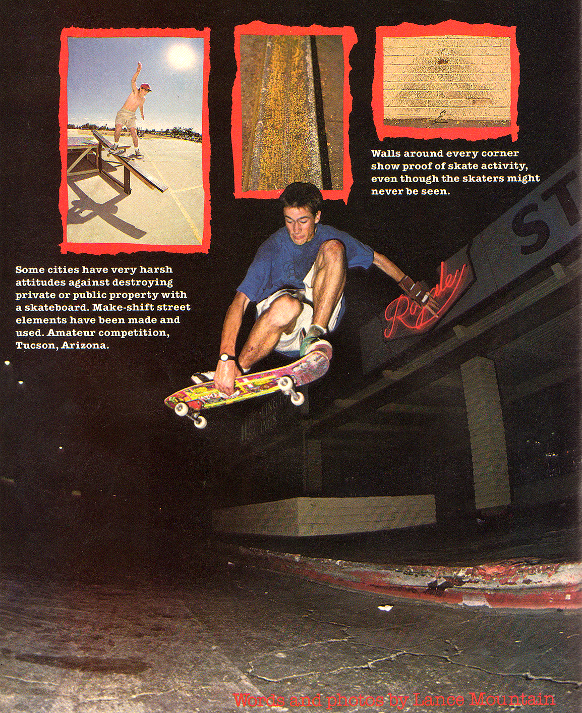 JLee had a really good Japan. Photo: Mountain. TWS April 1989, Vol. 7, No. 2.