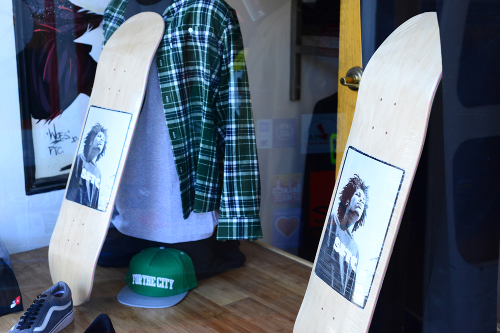 Drake\'s board in the window display.jpg